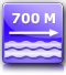 distance from the nearest beach : about 700 m.