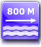 distance from the nearest beach : about 800 m.