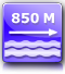 distanza spiaggia : circa 850 metri