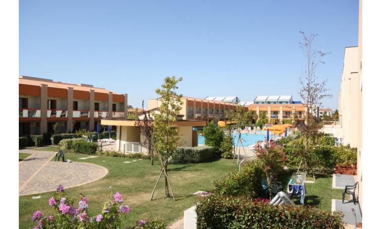 residence AI GINEPRI: area verde interna