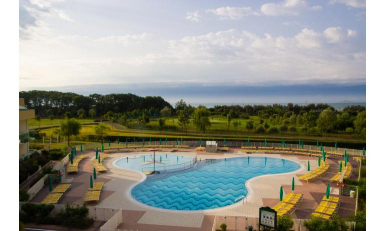 Hotel MAREGOLF: Panoramablick