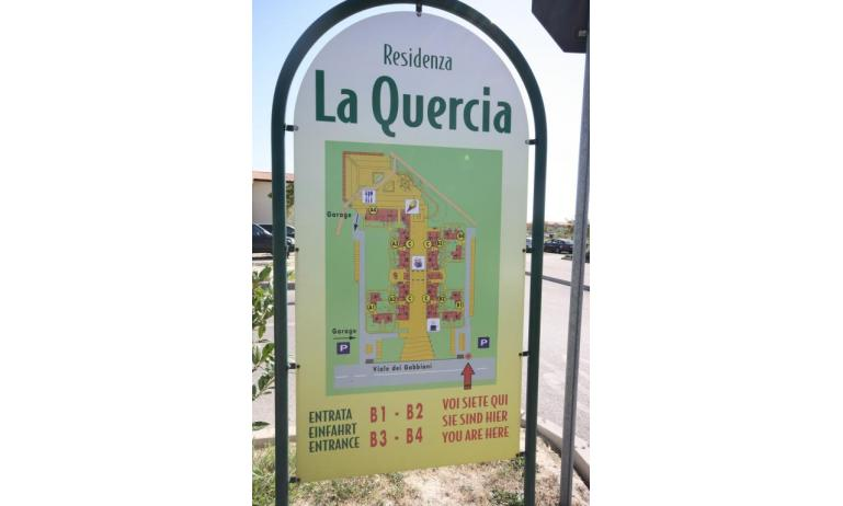 residence LA QUERCIA: ingresso