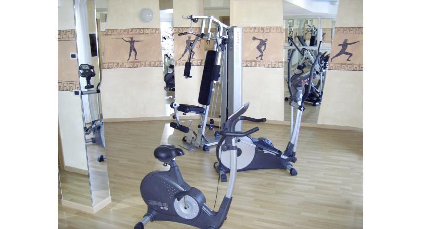 hôtel OLYMPUS: salle de gym (exemple)