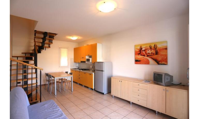 residence AI PINI: B5V - soggiorno (esempio)