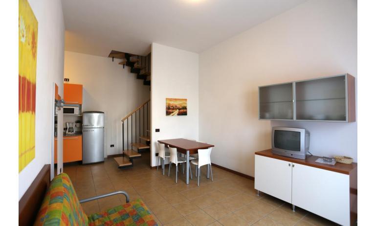 résidence ALLE FARNIE: B5V - canapé-lit double (exemple)